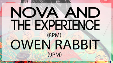 Happy Presents: BYE BYE BIGSOUND feat. Owen Rabbit + Nova and the Experience