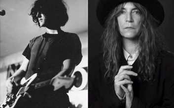Patti smith kevin Shields