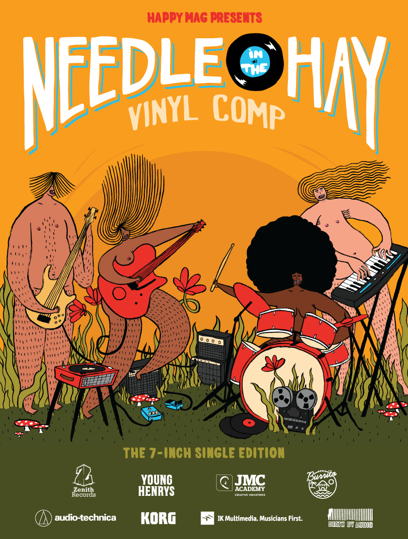 needle in the hay 7-inch singles edition finalists