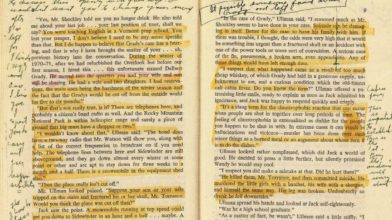 See Stanley Kubrick's annotated copy of Stephen King's The Shining