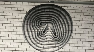 Is Aphex Twin revealing what all the cryptic posters mean tonight?