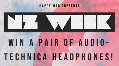 Win a pair of wireless Audio-Technica headphones at our NZ Week Party!