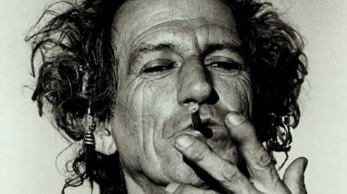 Keith Richards has eased off drinking