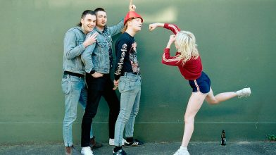 """We're not a band for radio, we're a band for the pub"": a chat with Amyl & The Sniffers"
