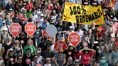 This afternoon, Sydneysiders are taking to the streets to Stop Adani