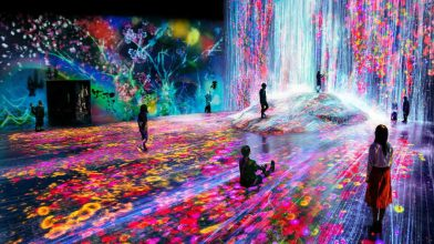 A free exhibition from Japan's famous art collective TeamLab is coming to Melbourne