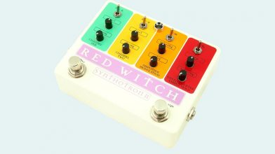 Red Witch has launched the Synthotron II analog synth pedal