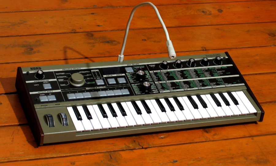 microKorg sound library