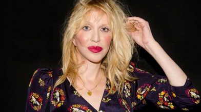 Courtney Love thanks Flea for his new book 'Acid for the Children'