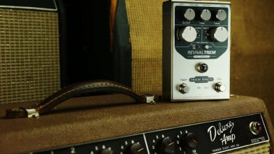 Bias tremolo and Fender tones at your feet: Origin Effects RevivalTREM