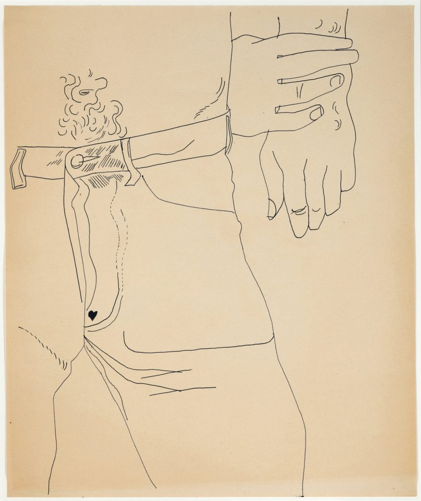 andy warhol, drawings