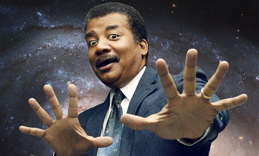 neil degrasse tyson, smoking weed in space