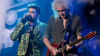 Watch Queen recreate their iconic 1985 Live Aid set at Fire Fight Australia
