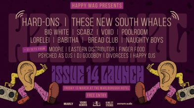 Announcing the full lineup for the Happy Mag Issue 14 Launch!