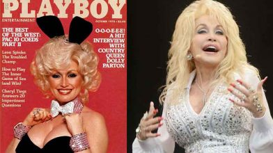 Dolly Parton wants to be on the cover of Playboy for her 75th birthday