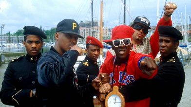 Flavor Flav hits Bernie Sanders with a cease and desist, gets kicked out of Public Enemy