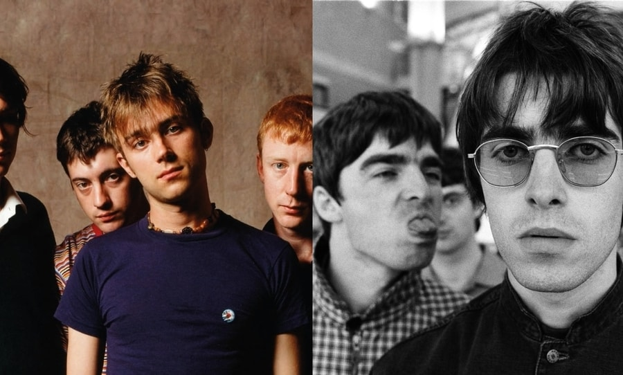 liam gallagher, noel gallagher, oasis, blur