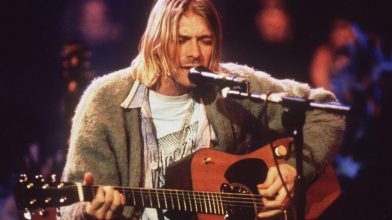 Kurt Cobain's 'Unplugged' guitar fetches $6M world record price at auction