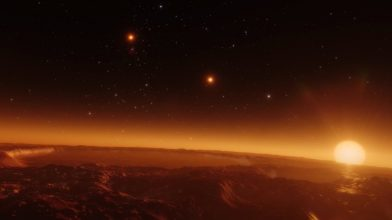 NASA simulation shows what sunsets look like on other planets